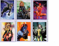 Woman of Marvel Series 1 Embossed   set #T1 thru #T9