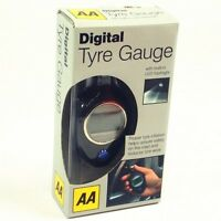 AA Digital Car Tyre Tire Gauge Air Pressure Tester Tool LED Light LCD Trendy1305