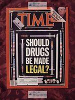TIME May 30 1988 Legalize Drugs? Reagan visits Gorbachev Jesse Helms +++