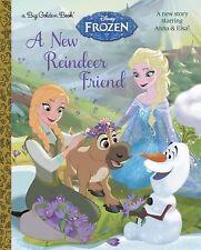 A New Reindeer Friend Disney Frozen Big Golden Book