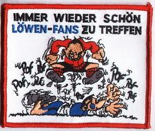 """Anti 1860 Aufnäher """"Immer wieder schön..""""  Kutte Ultra"""