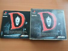 D ( PLAYSTATION 1 - SONY ) COMPLET