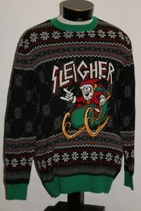 UGLY CHRISTMAS SWEATER Brand medium M Sleigher Sweater Combine ship Discount