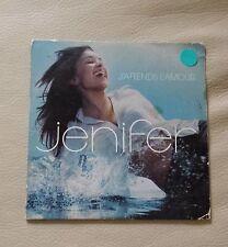 CD JENIFER J'ATTENDS L'AMOUR 2 TITRES 2002