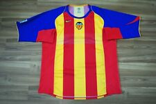 SPAIN VALENCIA 2004-2005 AWAY JERSEY CAMISETA SIZE NIKE RARE FOOTBALL SHIRT XXL