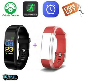Smart Watch Bracelet Heart Rate Blood Pressure Monitor Fitness Tracker Fit#bit.