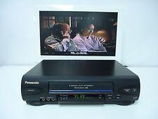 Panasonic Pv-V4522 4-Head Stereo Vhs Hi-Fi Vcr Video Cassette Recorder Player