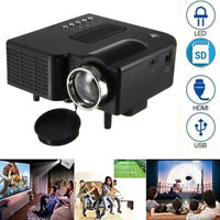 Mini Projector Home Theater Video Projector for Outdoor Indoor Party Movies Game
