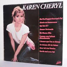 """33T Karen CHERYL Disque Vinyle LP 12"""" MA VIE APPARTIENT A TOI - SYSTEM DISCO 645"""