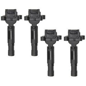Set of 4 Delphi Direct Ignition Coils for Mercedes W203 C230 1.8L 2003-2005 NEW