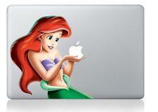 Mermaid Princess Cute Vinyl Decal Sticker  Macbook Air Pro Retina 13 Cover 01