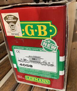 LGB 4058 Heavy Duty 8 Axle Transformer Car * Original Box & Sleeve * G Scale *