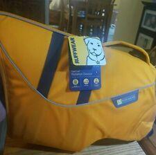(New) Ruffwear  Float Coat Flotation Device (Orange Waves) LG New