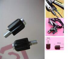 Road / MTB Bike Gear Cable Adjuster Derailleur Barrel Screw Adjusters X 2