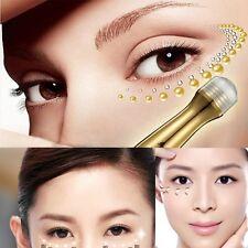 24K Gold Collagen Anti Aging Dark Circle Eye Bag Cream Serum Magnetic Ion Roller