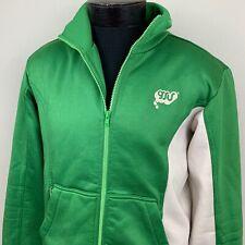 Gsus Sindustries Track Jacket Green Full Zip Turkey Men's Medium