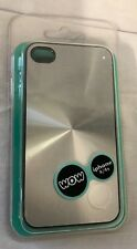 WOW Technologies Apple iPhone 4/4s Protective Silicone Case Metallic Silver