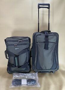 Briggs & Riley Transcend Transformable Upright Carry On Luggage TDUR522 Rare