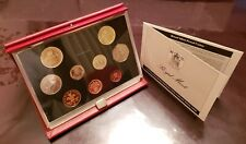 Untied Kingdom Proof Coin Collection 1989 mint