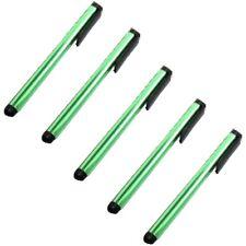 5 x Stylus Pen Eingabestift Touch Stift für Smartphone Tablet Handy PDA Grün