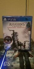 Assassin's Creed III 3 Remastered PS4 New Fast Shipping