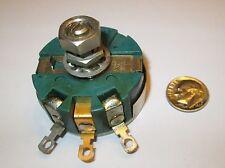 CLAROSTAT 58C2  50K OHM  WIRE WOUND  4 WATT POTENTIOMETER  SD LOCKING  NOS