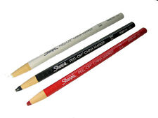 Three Rod Blank Markers Color White, Red, Black