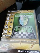 Compuchess 2004 - PC-CD Rom Chess Game - New & Sealed - Rare