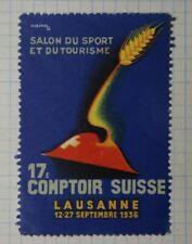 Swiss Sport & Tourism Fair Ww Tourism Poster Stamp
