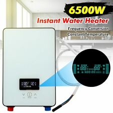 6500W Instant Water Heater 220V Bathroom Tankless Electric Water Heater