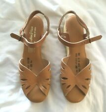 Nwot Vintage Sears Womans Leather And Famolare Wedge Shoe