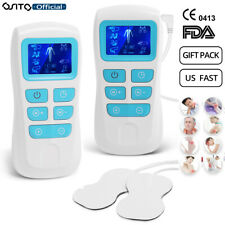 OSITO Tens Unit Electronic Pulse Digital Massager Pain Relief Therapy Gift Pack