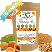 BITTER APRICOT SEED Powder - Organic Raw Kernel Premium Quality 200g / 7.05oz
