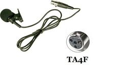 New Lavalier Mic Lapel Mic For Shure Wireless Beltpack with TA4F SLX PGX