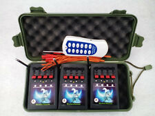 Wireless 12CH Fireworks Firing System Remote with switch electric igniter party