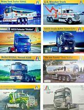 Italeri 1/24 / Trucks / Trailers / Truck / Trailer / New Plastic Model Kit 1 24