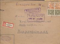 580730 / Alliierte Besetzung Beleg