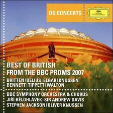 Best of British: From the Proms 2007 BBC Symphony Orchestra 7 Chorus, Jiri Belo