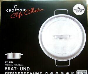 Brat- und Servierpfanne 28 cm CROFTON CHEF´S COLLECTION +neu und ovp++