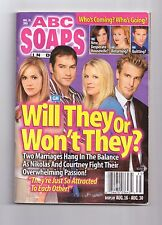 ABC SOAPS IN DEPTH GENERAL HOSPITAL WILL THEY OR WONT THEY AUGUST 2005