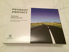 Peugeot Protect Summer Aftercare Kit. 4 products to keep that showroom condition