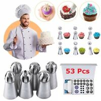 Russian Piping Tips Cake Decorating Kit Set Tools Bags Pastry Icing Bags Nozzles
