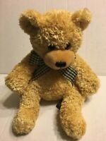 """Melissa & Doug Brown Bear 10"""" Plush Stuffed Animal"""