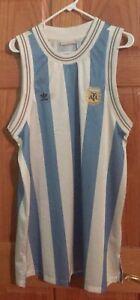 Women's Adidas Argentina Lionel Messi Jersey Dress #10 XL $90 Rare
