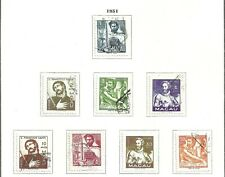 Macau 1951 - East Personalities set used