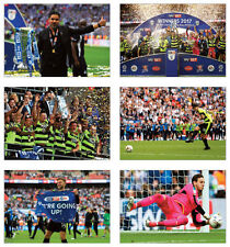 Huddersfield Town Championship Play Off Winners 2017 POSTCARD Set
