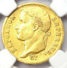 1813-A France Napoleon Gold 20 Francs Coin G20F - Certified NGC XF45 - Rare!