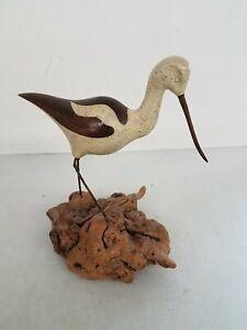 Jack Francis Carved Bird Signed