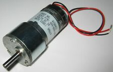 Globe Motors 1000 Rpm Gearhead Electric Motor With 316 D Shaft 24v Dc 415a