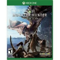 MONSTER HUNTER: WORLD (XBOX ONE) - BRAND NEW/SEALED - FREE SHIPPING!